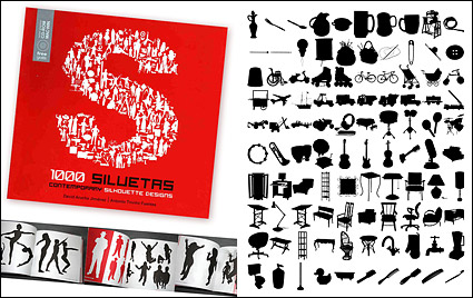 Link to1000 album various silhouette vector material-7
