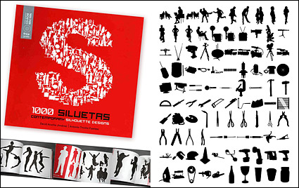 Link to1000 album various silhouette vector material-6