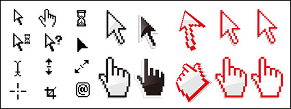 Link toSystem of the mouse pointer vector material