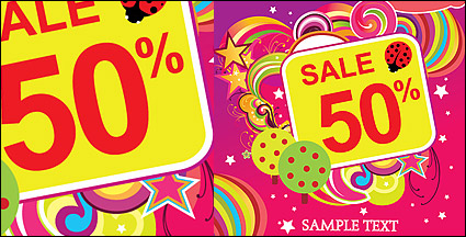 Link toDiscount sales trend vector material-4