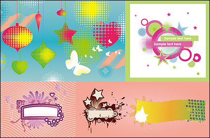 Link toThe trend of design elements vector material