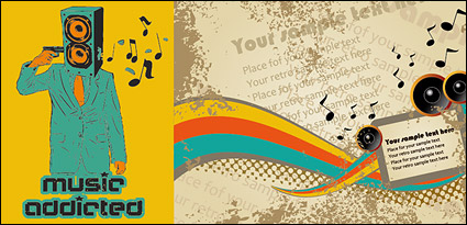 Link toVector illustration music subject material