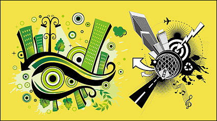Link toVector illustration of urban material