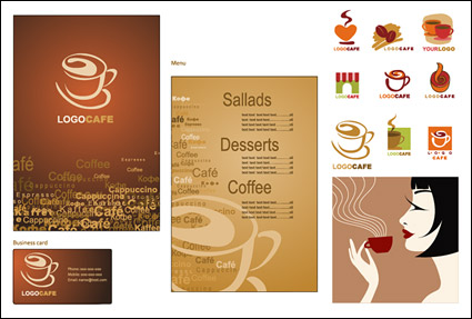 Link toCoffee vector subject material