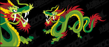 Link toChinese dragon vector color material