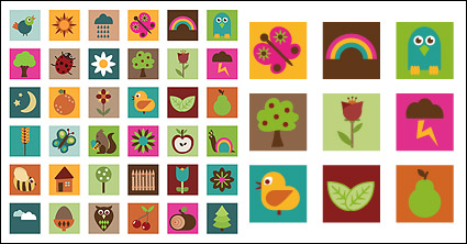Link toCute graphics vector material
