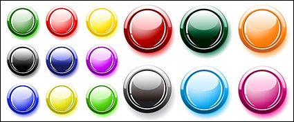 Link toMany button colors crystal round vector material