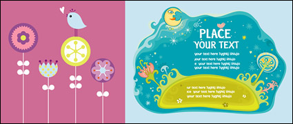Link toCute vector illustration material trends