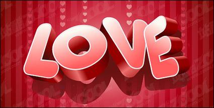 Link toThree-dimensional vector material love