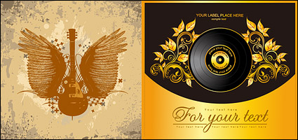 Link toThe trend of music illustration vector material
