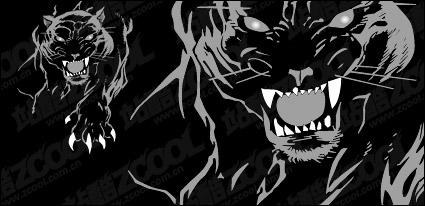 Link toFerocious panther vector material