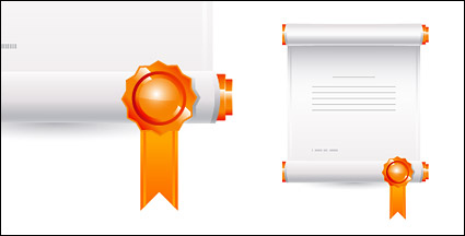Link toCommendation certificates vector material