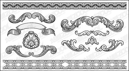 Link toContinental lace pattern vector material