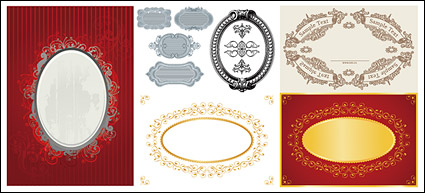 Link toContinental 6 oval lace material vector