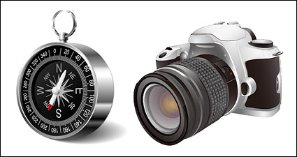 Link toDigital slr and the compass vector material