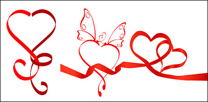 Link to3 special heart-shaped vector material