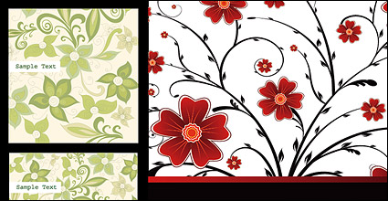 Link toBackground fashion pattern vector material