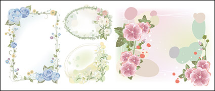 Link toFantasy flower frame material