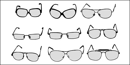 Link toVector number of glasses material
