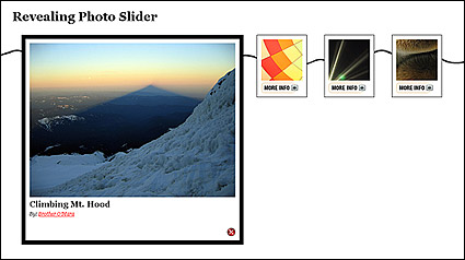 Link toJquery based on the effect of contraction and to enlarge picture (js + css)