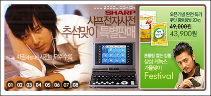 Link toSouth korea beautiful flash-style advertising code