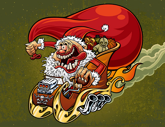 Crazy Christmas old material Download Free Vector,PSD,FLASH,JPG ...