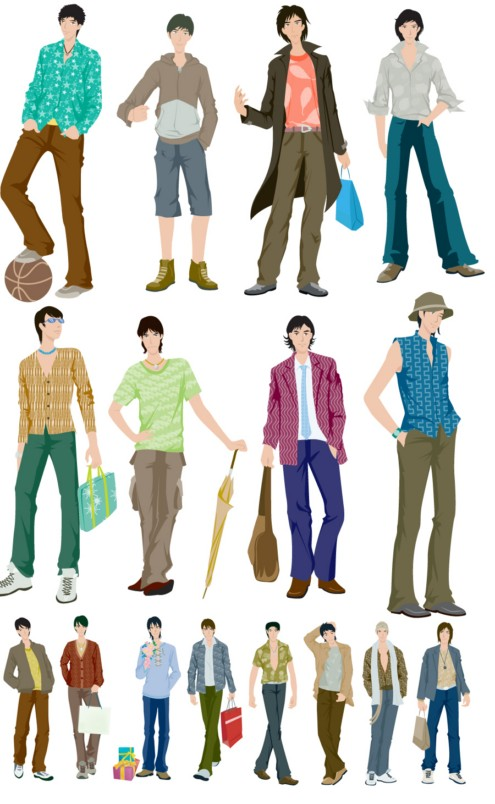 boys fashion vector  u2013 over millions vectors  stock photos