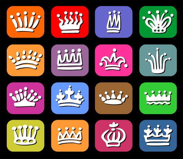 Crown Vector Graphics
