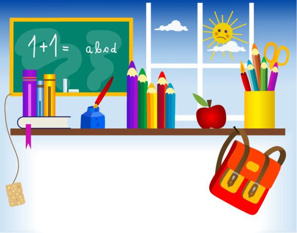 1 Eps 1.83 Mb.  Скачать векторные школьные принадлежности (school tool) .