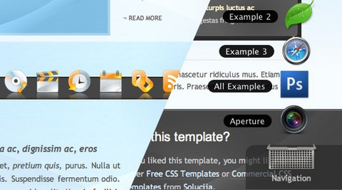System, enhanced version of the classic menu