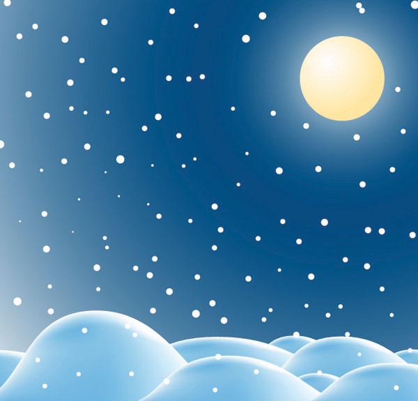 Snow Vector Material 2 Download Free Vector Psd Flash Jpg