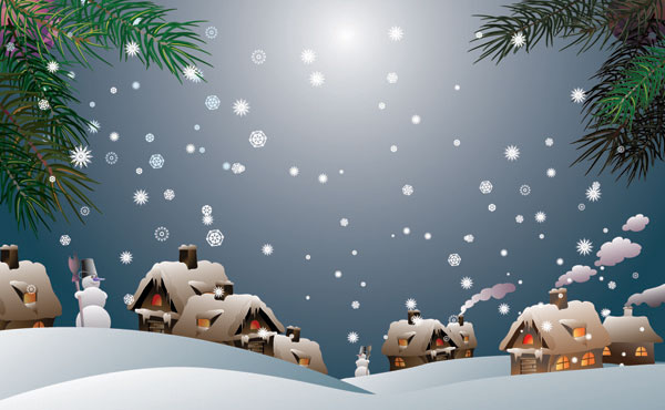 Snow Vector material