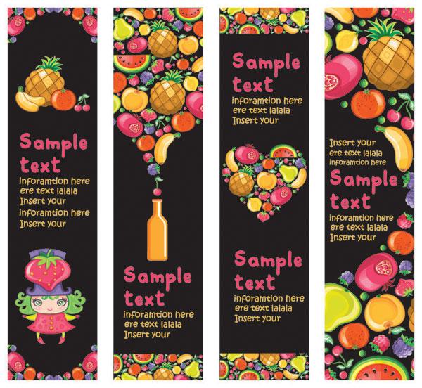 Fruit Banner Vector Download Free Vector Psd Flash Jpg
