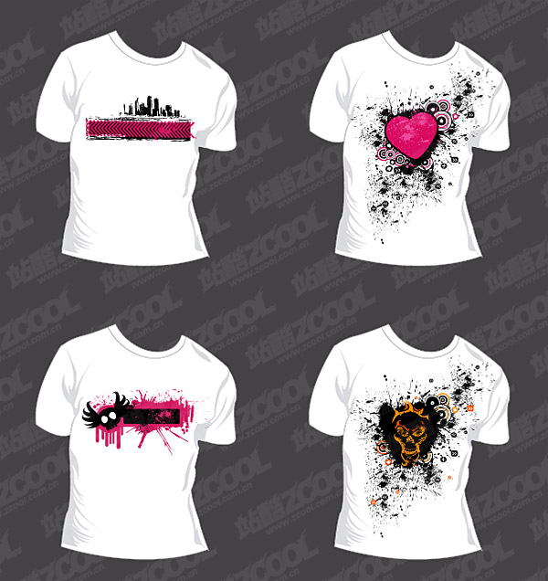 Trend Of T Shirt Template Vector Material Download Free