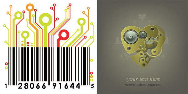 barcode vector art. Barcodes Vector amp; Photoshop