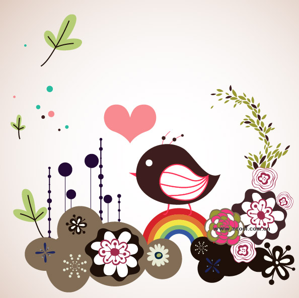 format, including jpg preview, keyword: cute trend vector illustration ...