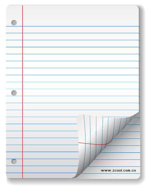 Vector blank notebook paper material Download Free Vector ...