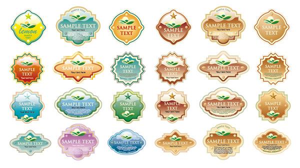 Cristal label