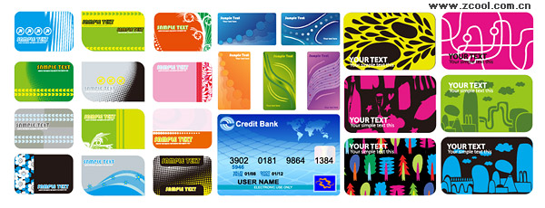 credit cards designs. card design line of credit