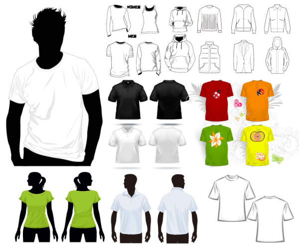 T-shirt Vector Free Download Keywords T-shirt Template