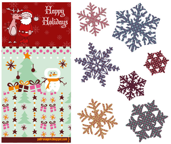 christmas vector material download free vectorpsdflash