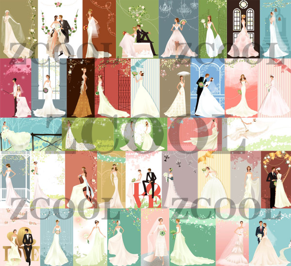 40 Zhang Meili S Wedding Bride Vector Material Over Millions Vectors Stock Photos Hd