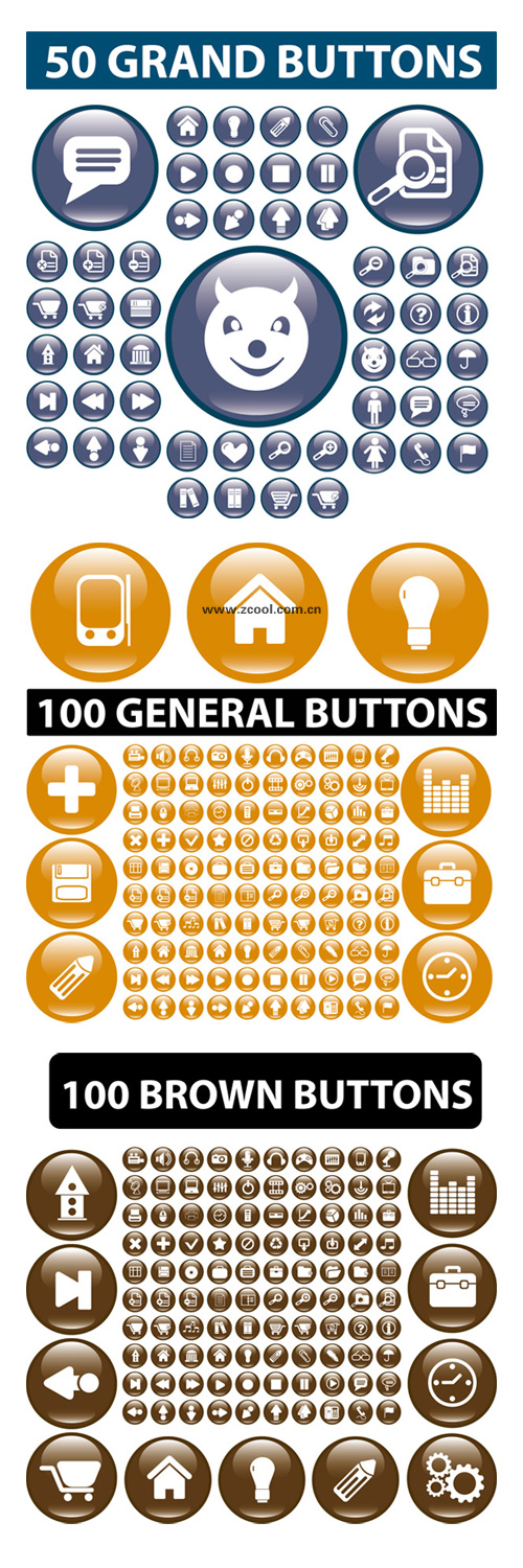 Practical Web Design small icon vector material Download Free Vector ...