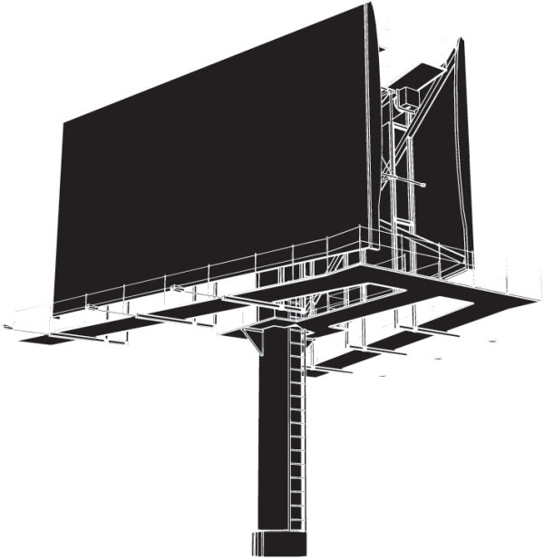 Outdoor Billboard Vector Billboard Icon Png