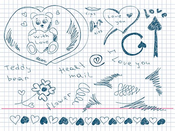 Картинки нарисованные своими руками про любовь