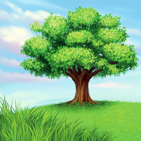 A Tree Vector Material Download Free VectorPSDFLASHJPG