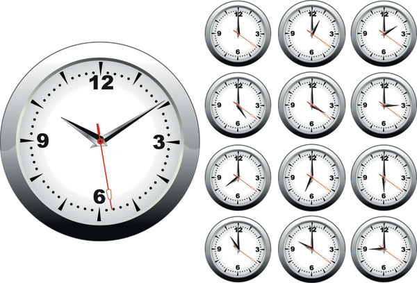 Clock Psd Free Download Clock Vector Free Download