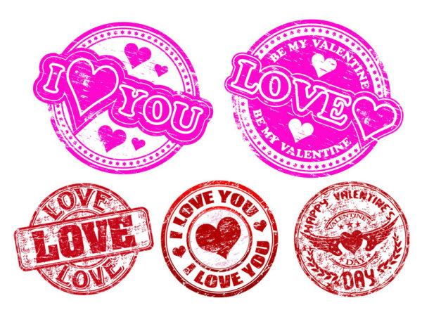 love badge vector download free vectorpsdflashjpgwww