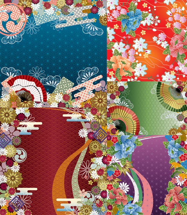 Japanese wind vector background patterns over millions vectors japanese wind vector background patterns toneelgroepblik Image collections