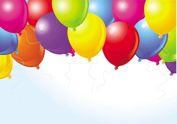 Balonlar Vektörel